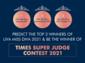 TIMES SUPER JUDGE CONTEST! VOTE NOW!