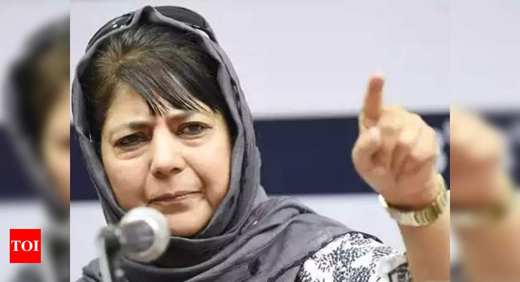 Mehbooba Mufti says her remarks on Sharia law were deliberately distorted
