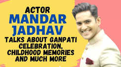 Actor Mandar Jadhav talks about Ganpati celebration, childhood memories and much more