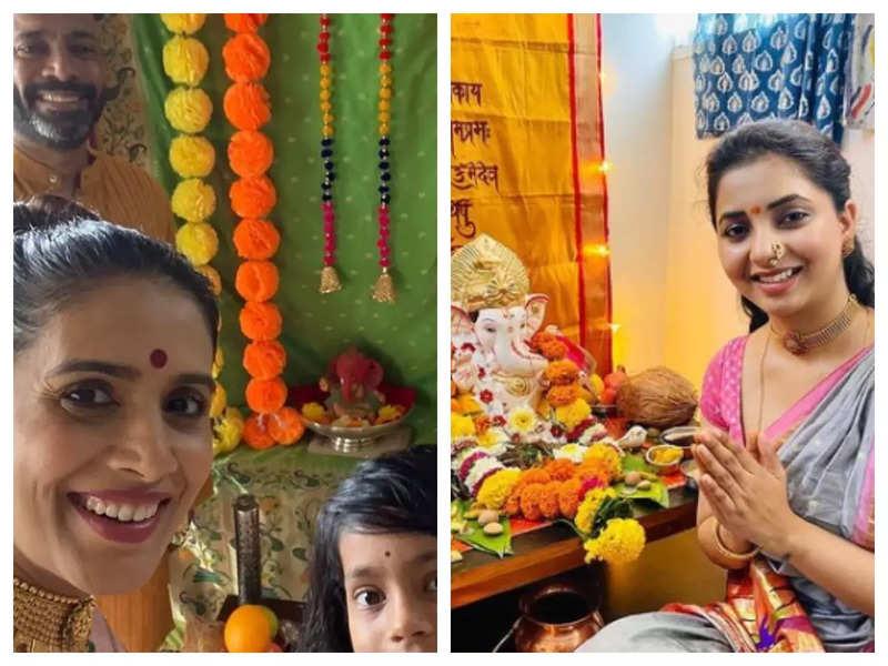 Happy Ganesh Chaturthi: Swwapnil Joshi, Sayali Sanjeev and other celebs share heartfelt wishes on the occasion