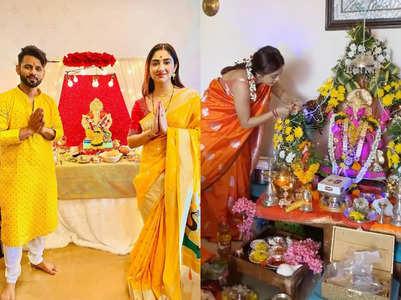 TV celebs share beautiful photos with Bappa