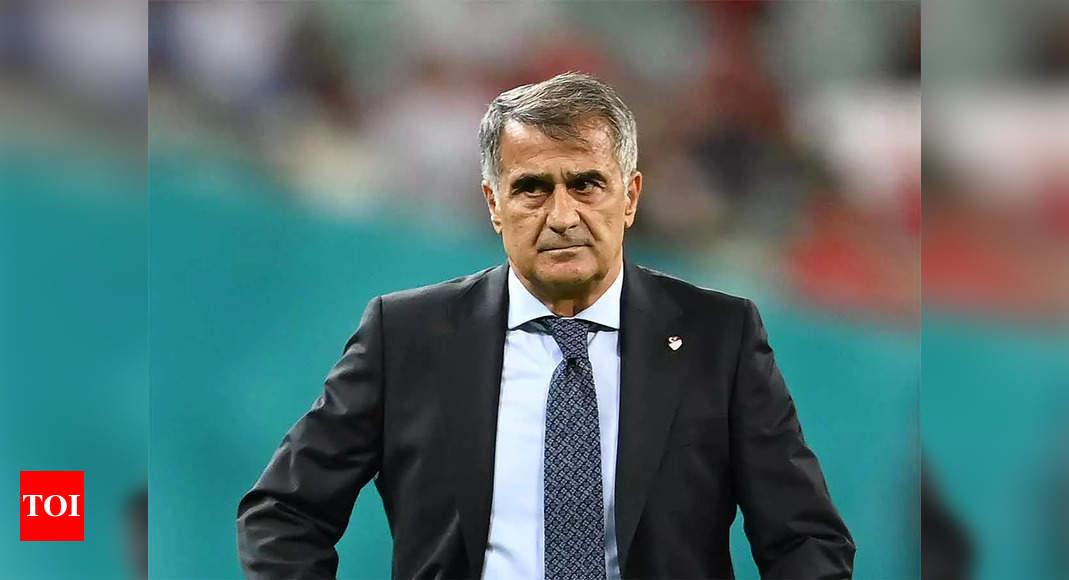 Photo of Turkey mutually parts ways with head coach Senol Gunes   Football News – Times of India   Reuters