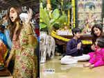 Shilpa Shetty gets trolled for sharing Ganesh Chaturthi's celebration pictures as hubby Raj Kundra is in jail