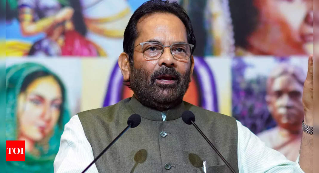 Fault lies with opposition leaders so they are shying away from probe into Rajya Sabha ruckus: Naqvi