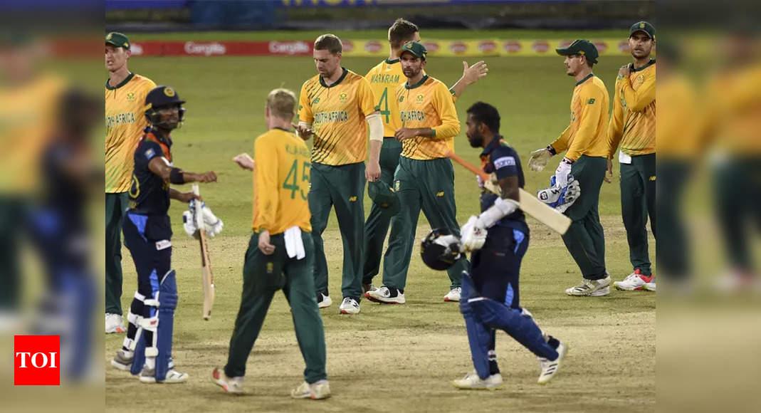 1st T20I: Markram, bowlers help South Africa down Sri Lanka | Cricket News – Times of India