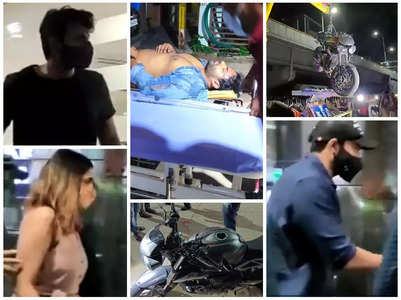 Sai Dharam Tej accident: Family rushes to the hospital
