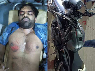 Telugu actor Sai Dharam Tej meets with an accident