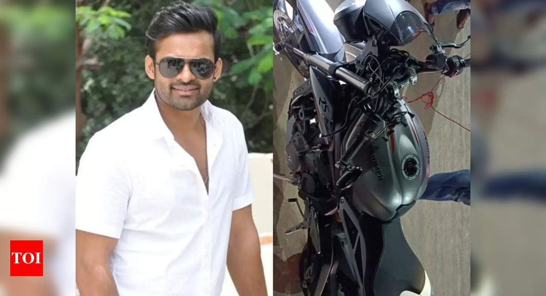 Tollywood actor Sai Dharam Tej meets with a road accident; suffers injuries