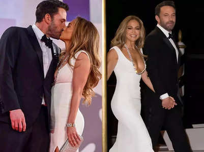 J.Lo and Ben Affleck look every inch the power couple