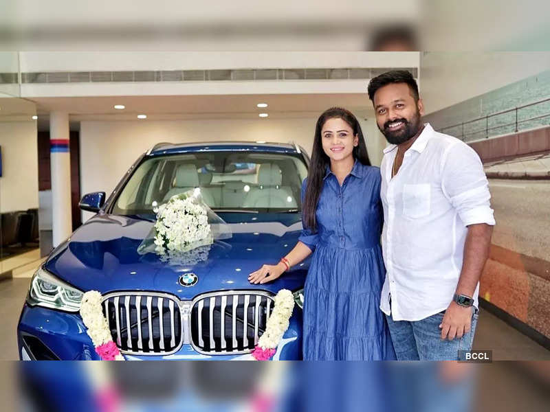 Manimegalai and Hussain buy a swanky new luxury car; see pics (Photo - Instagram)