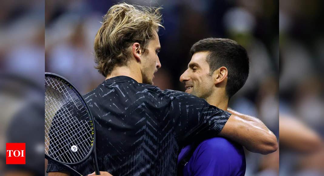 US Open: After falling short, Alexander Zverev tips hat to 'mentally best' Novak Djokovic   Tennis News – Times of India