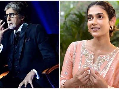 Big B heaps praise on Aakanksha's 'Clap'