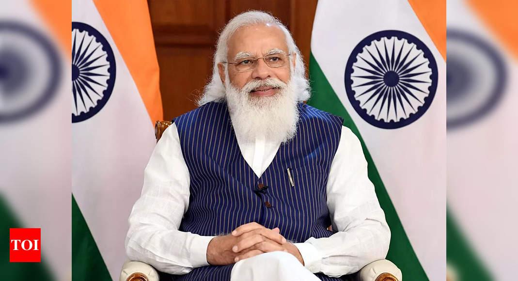 , PM Modi inaugurates Sardardham Bhavan in Gujarat's Ahmedabad, The World Live Breaking News Coverage & Updates IN ENGLISH