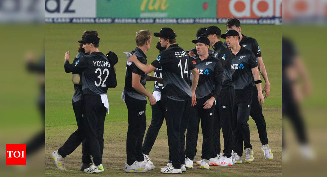 New Zealand cricket team in Pakistan for first tour in 18 years   Cricket News – Times of India