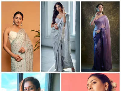 South actresses who sizzled in a saree