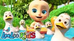 Watch Popular Kids English Nursery Song 'Five Little Ducks' for Kids - Check Out Fun Kids Nursery Rhymes And Baby Songs In English