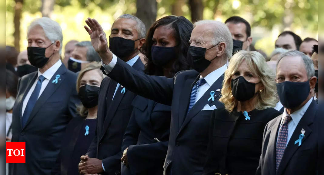 Joe Biden marks 9/11 anniversary with tribute, call for unity – Times of India