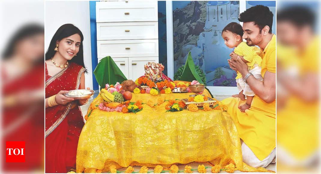 , Amrita Rao on Veer's 1st Ganpati celebrations, The World Live Breaking News Coverage & Updates IN ENGLISH