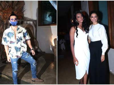 Deepika-Ranveer & PV Sindhu get spotted for dinner
