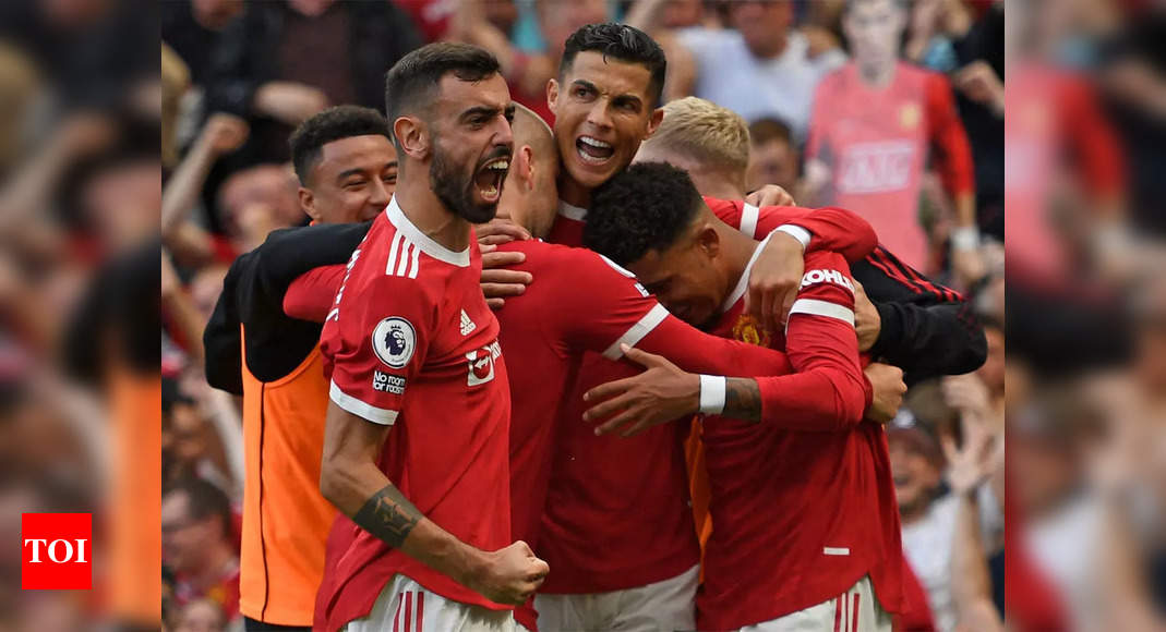 Premier League: Cristiano Ronaldo rolls back the years with dream double on Manchester United return   Football News – Times of India