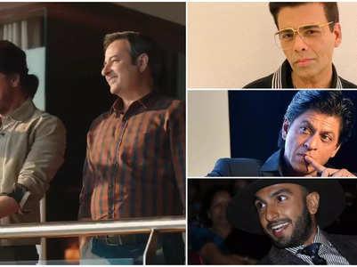 Karan & Ranveer take a hilarious dig at SRK