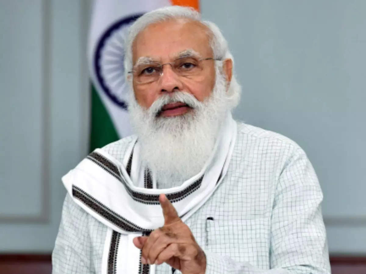 Economic recovery faster than Covid-19 damage: PM Modi - Times of India
