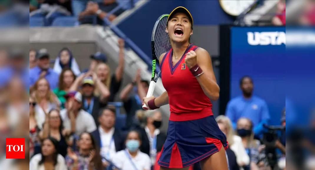 Britain's Emma Raducanu, 18, beats Canada's Leylah Fernandez, 19, to win US Open   Tennis News – Times of India