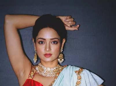 Shanvi Sri dazzles all with her ethnic attires