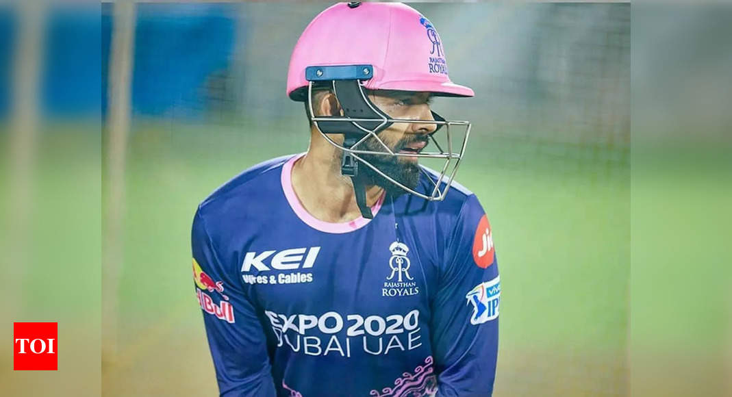 IPL 2021: Rajasthan Royals' Manan Vohra looking to use lessons learnt from first leg | Cricket News – Times of India