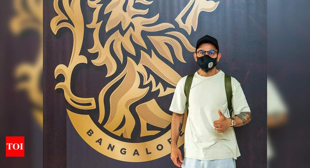 RCB's Virat Kohli, Mohammed Siraj reach UAE for second leg of IPL 2021 | Cricket News – Times of India