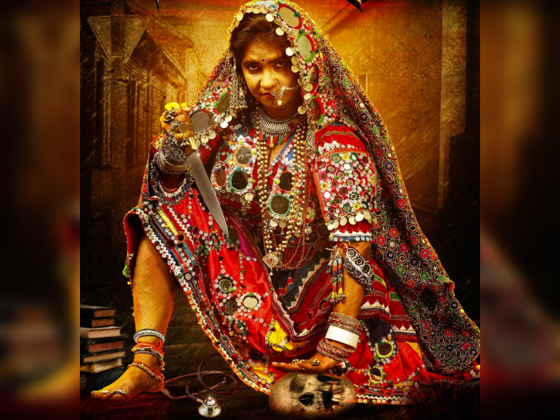 Shubha Poonja adorns 20kg Lambani outfit for a film based on a true incident