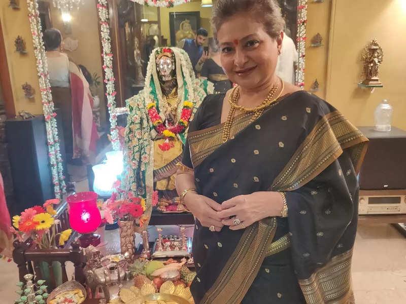 Smita Jayakar: We'll be live-streaming our Gauri pujan this year