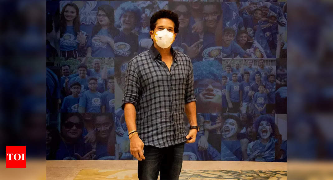 IPL 2021: Mumbai Indians mentor Sachin Tendulkar arrives in UAE | Cricket News – Times of India
