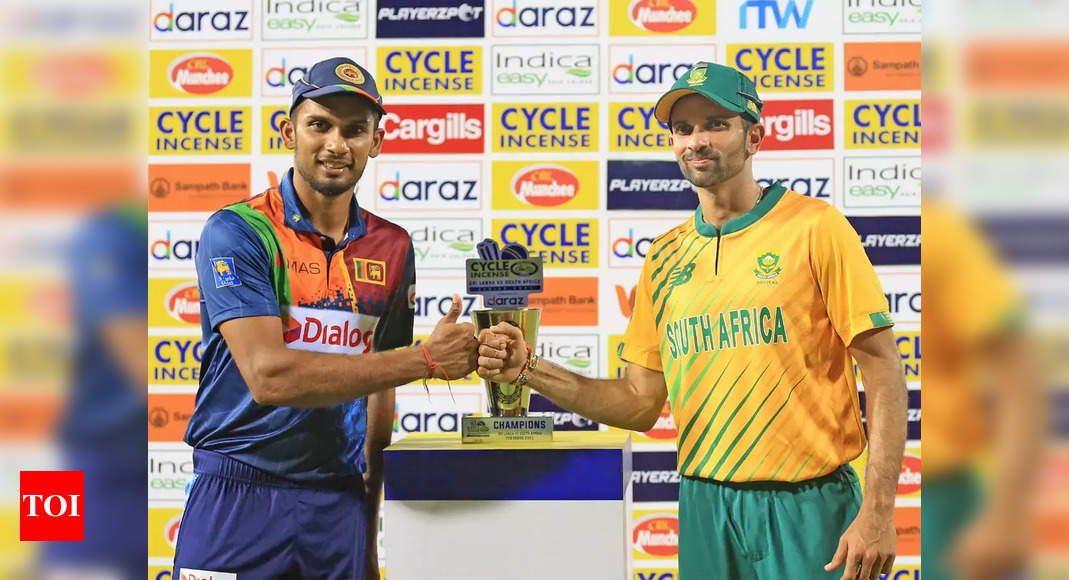 , Live Cricket Score, Sri Lanka vs South Africa, 2nd T20I, The World Live Breaking News Coverage & Updates IN ENGLISH