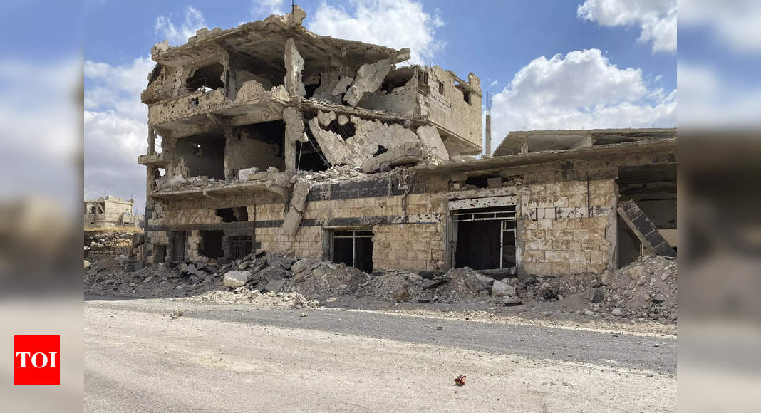 Uneasy calm in Syria's Daraa after truce – Times of India