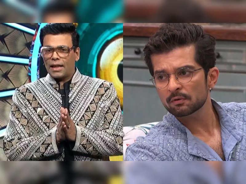 Bigg Boss OTT: Karan Johar calls Raqesh Bapat sexist for his 'men are stronger than women' logic