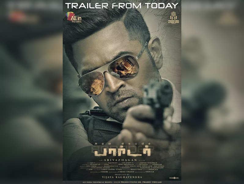 Arun Vijay's Borrder trailer packs a punch