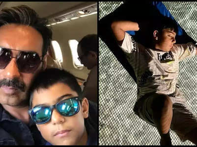 Ajay Devgn pens a birthday wish for son Yug