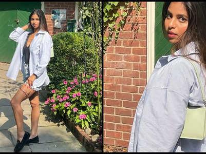 Suhana Khan's outdoor photoshoot in NY
