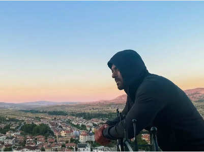 Salman Khan enjoys sunrise in Cappadocia