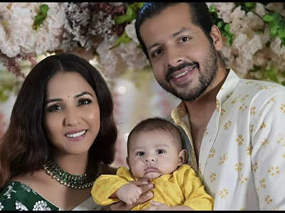 Neeti-Nihaar reveal son Aryaveer's face