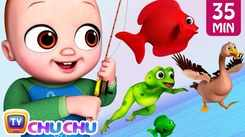 Nursery Rhymes in English: Children Video Song in English 'Baby Goes Fishing'