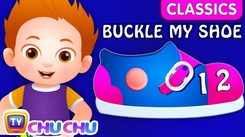 Nursery Rhymes in English: Children Video Song in English 'One Two Buckle My Shoe'