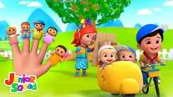 English Kids Poem: Nursery Song in English 'Finger Family'