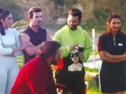 KKK11: Arjun, Divyanka get into a small tiff