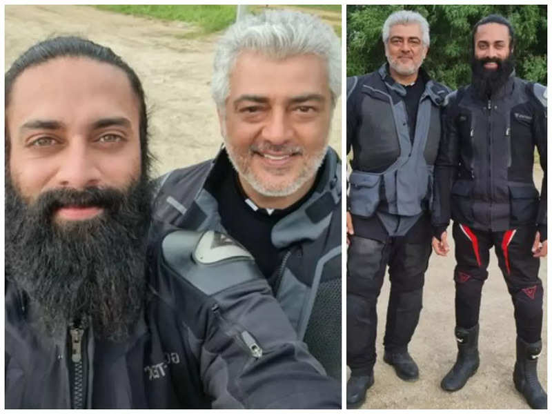 Navdeep has a fanboy moment with Thala Ajith as they bond over love for biking