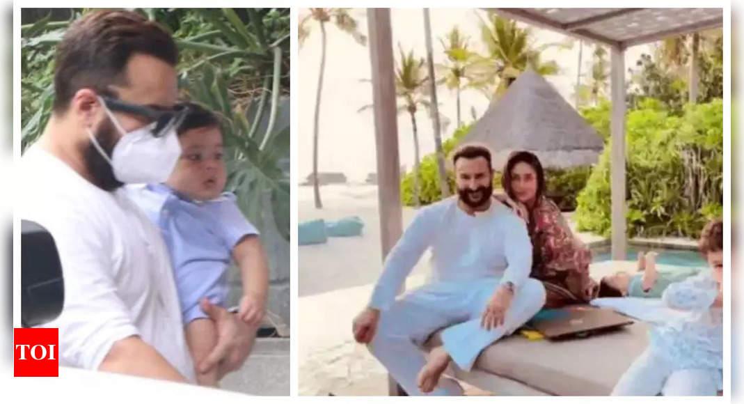 Saif calls son Jehangir his accomplishment
