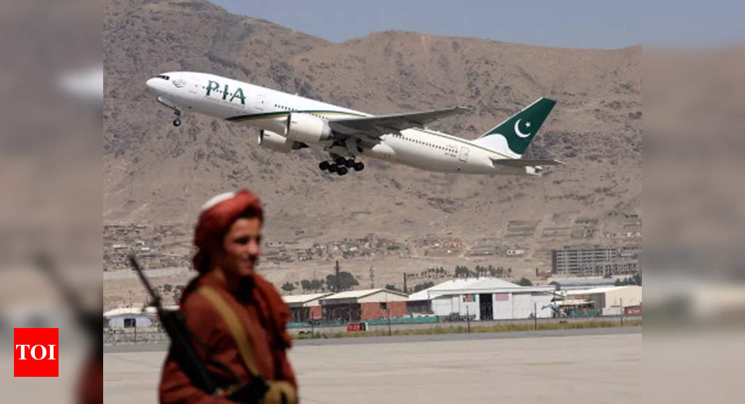 Pakistan's national flag-carrier runs its first commercial flight to Kabul since Taliban takeover
