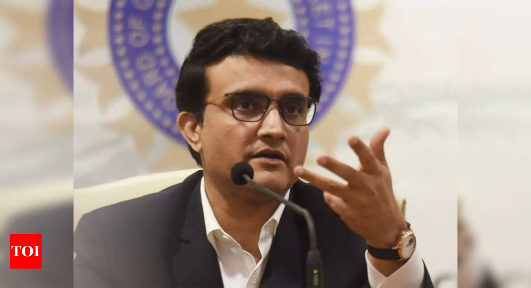 Sourav Ganguly: We want rescheduled Test to be 'fifth' of series and not one off | Cricket News – Times of India