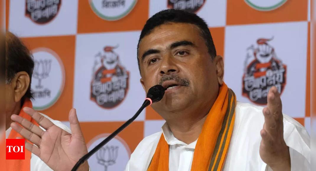 Suvendu Adhikari seeks disqualification of two BJP MLAs who joined TMC